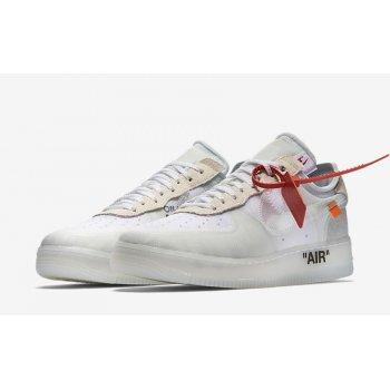 Schuhe Sneaker Low Nike Air Force 1 Low x Off-White OG White White/White-Sail