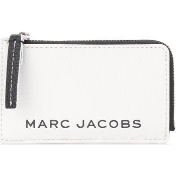 Taschen Portemonnaie Marc Jacobs The  Kartenetui The Colorblock Small Top Zip und Weiss