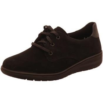 Schuhe Damen Derby-Schuhe Solidus Schnuerschuhe Kate 29517 00985 schwarz