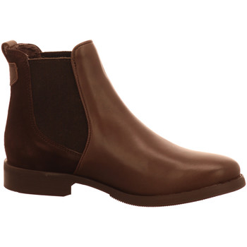 Schuhe Damen Boots Brax Stiefeletten 505 espresso combi 2520001-110-0 braun