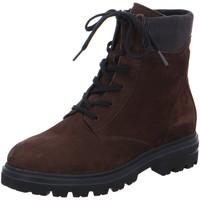 Schuhe Damen Boots Hartjes Stiefeletten Stiefelette HIKE 150472-77 braun
