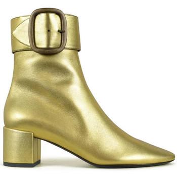Schuhe Mädchen Stiefel Saint Laurent  Gold