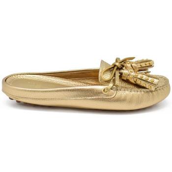 Schuhe Kinder Slipper Car Shoe  Gold