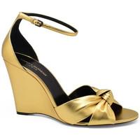 Schuhe Damen Sandalen / Sandaletten Saint Laurent  Gold