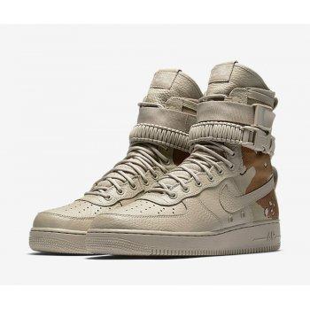 Schuhe Sneaker High Nike SF Air Force 1 Dessert Camo Chino/Chino/Classic Stone
