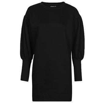 Kleidung Damen Kurze Kleider Yurban OKAL Schwarz
