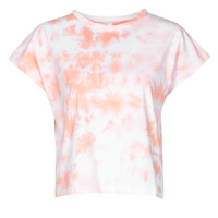 Kleidung Damen T-Shirts Yurban ONILA Weiss / Rose