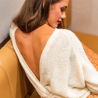 Kleidung Damen Pullover Céleste COMETE Naturfarben