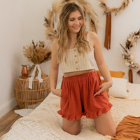 Kleidung Damen Shorts / Bermudas Céleste MAGNOLIA Braun