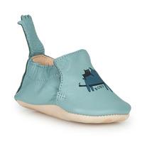 Schuhe Kinder Hausschuhe Easy Peasy BLUMOO Blau