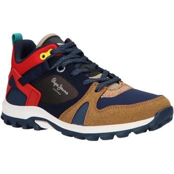 Schuhe Jungen Laufschuhe Pepe jeans PBS50086 ARCADE TRAIL Marr?n