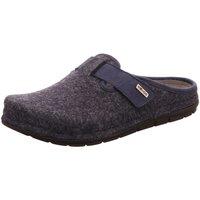 Schuhe Herren Hausschuhe Rohde -Toffel Memoryfußbett,oc 6741 56 blau