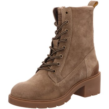 Schuhe Damen Boots Camel Active Stiefeletten Leaf Mid lace boot 21143280/C24 braun