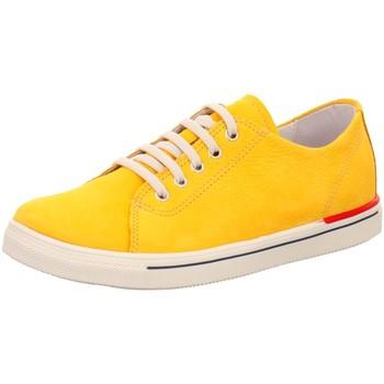Schuhe Damen Sneaker Low Sabalin -Schnürschuh 51-5090 mais gelb