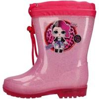 Schuhe Jungen Sneaker Easy Shoes - Stivale rosa LOP9418-06 ROSA