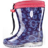 Schuhe Jungen Sneaker Easy Shoes - Stivale blu SPP7256-02 BLU