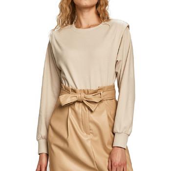 Kleidung Damen Sweatshirts Jacqueline De Yong 15225001 Beige