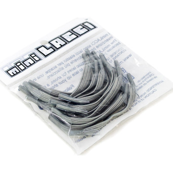 Accessoires Damen Schnürsenkel Mini Lacci ML Grigio