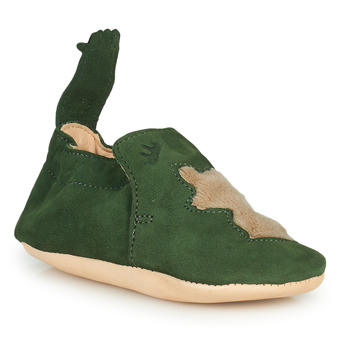 Schuhe Kinder Hausschuhe Easy Peasy BLUMOO RENARD Grün