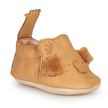 Schuhe Kinder Hausschuhe Easy Peasy BLUMOO KOALA Braun