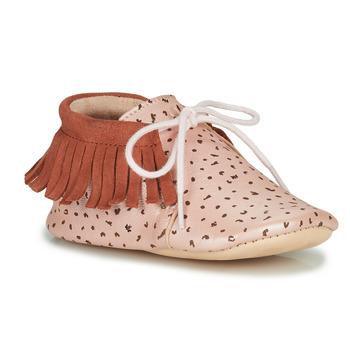 Schuhe Mädchen Hausschuhe Easy Peasy MEXIMOO Rose
