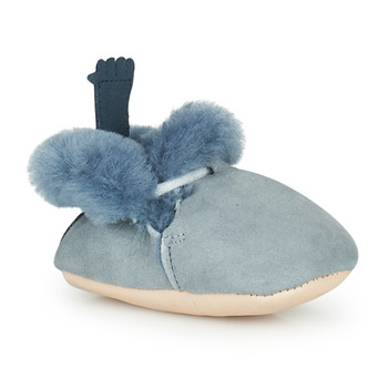 Schuhe Kinder Hausschuhe Easy Peasy MINIMOO Blau