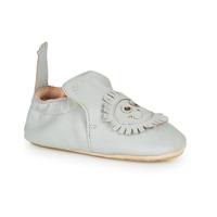 Schuhe Kinder Hausschuhe Easy Peasy BLUBLU LION Grau