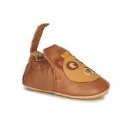 Schuhe Kinder Hausschuhe Easy Peasy BLUBLU OURS Braun