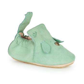 Schuhe Kinder Hausschuhe Easy Peasy BLUBLU CHIEN Grün