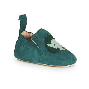 Schuhe Kinder Hausschuhe Easy Peasy BLUBLU HERISSON Blau
