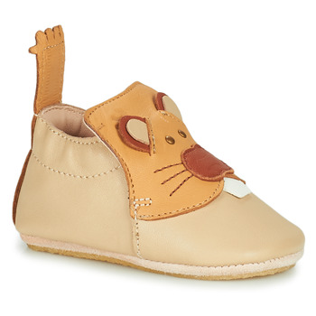 Schuhe Kinder Hausschuhe Easy Peasy BLUBLU CASTOR Beige