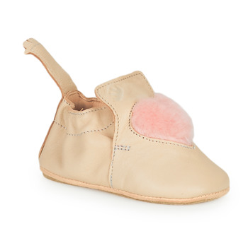 Schuhe Kinder Hausschuhe Easy Peasy BLUBLU COEUR Beige