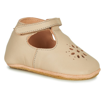 Schuhe Kinder Hausschuhe Easy Peasy LILLYP Weiss