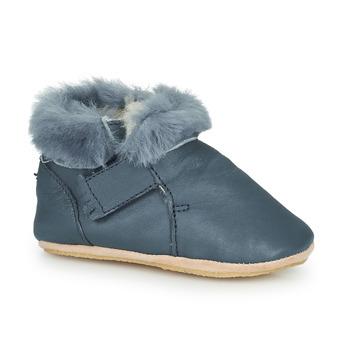 Schuhe Kinder Hausschuhe Easy Peasy FOUBLU Blau