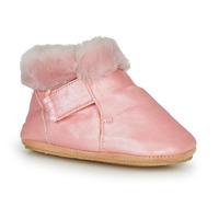 Schuhe Mädchen Hausschuhe Easy Peasy FOUBLU Rose
