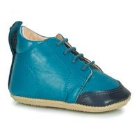 Schuhe Kinder Hausschuhe Easy Peasy IGO B Blau