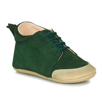 Schuhe Kinder Hausschuhe Easy Peasy IGO B Grün
