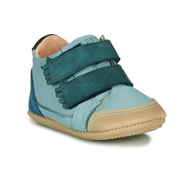 Schuhe Kinder Hausschuhe Easy Peasy IRUN B Blau