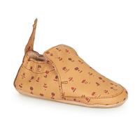 Schuhe Kinder Hausschuhe Easy Peasy BLUBOOTIES Braun