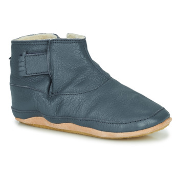 Schuhe Kinder Hausschuhe Easy Peasy BOOBOOTIES Blau