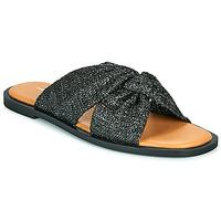 Schuhe Damen Pantoffel Vanessa Wu ANELLE Schwarz