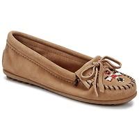 Schuhe Damen Slipper Minnetonka THUNDERBIRD II Maulwurf
