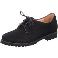Schuhe Damen Derby-Schuhe Ganter Schnuerschuhe Frida 2083480100 schwarz