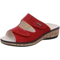 Schuhe Damen Pantoffel Fidelio Soft-Line G 245012 56 rot