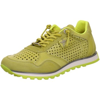 Schuhe Damen Sneaker Low Cetti Schnuerschuhe C848 SRA NATURE TIN LIMA YELLOW Other