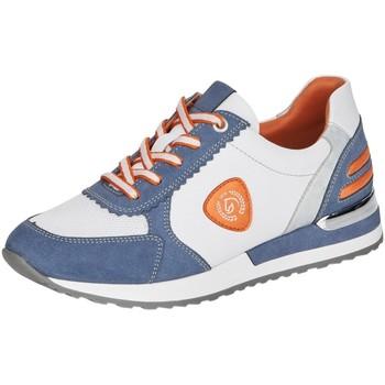 Schuhe Damen Sneaker Low Remonte Dorndorf Schnuerschuhe blau