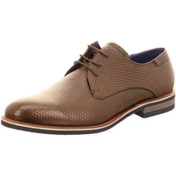 Schuhe Herren Derby-Schuhe Bugatti Schnuerschuhe Laino 311A2Z041100-6100 braun