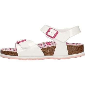 Schuhe Jungen Sandalen / Sandaletten Birkenstock - Rio bianco 1018864 BIANCO
