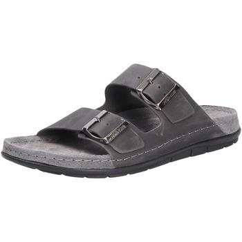 Schuhe Herren Pantoletten Rohde Herren Pantolette grau