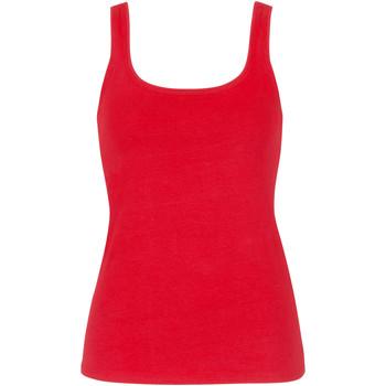Kleidung Damen Tops Lisca Happyyday Korallen Tank Top  Wange Jeansstoff